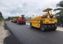 ทช.ก่อสร้างขยายถนนสาย นศ.2012 แยก ทล.41 เชื่อมนครศรีธรรมราช – พัทลุง – ตรัง ส่งเสริมเศรษฐกิจการขนส่งระหว่างอำเภอและจังหวัดใกล้เคียง